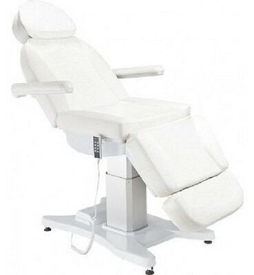 SALE 4 Motor Electric Bed White Beauty Spa Salon Injectables Eyelashes Spa New