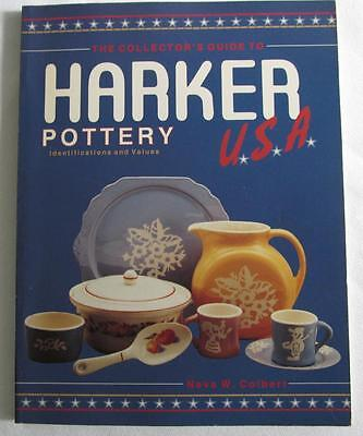 Collector's Guide HARKER POTTERY USA Identification & Values by Neva W. Colbert
