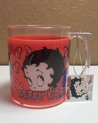 Betty Boop Plastic Cup