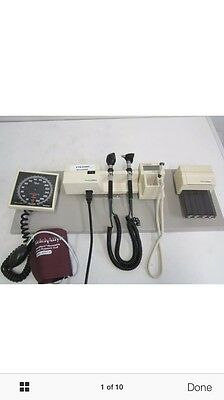 Welch Allyn 76710 Integrated Wall System, Lightly Used Works Perfectly
