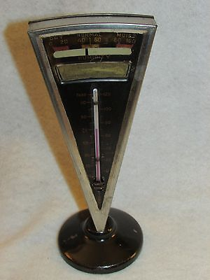 Hygrometer Thermometer Art Deco 1920 Works Airdu Reading Pa Berks Pdn Corp Coal