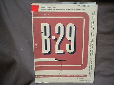 The B-29 Airplane Commander Training Manual for the Superfortress