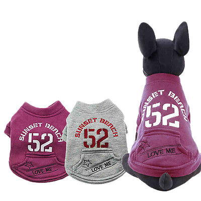 Fashion Pet Coat Dog Jacket Winter Clothes with Pocket Puppy Cat Sweater Coats