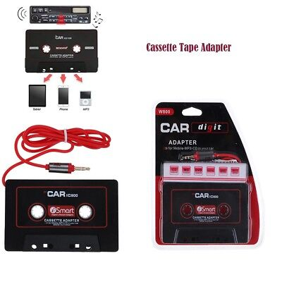 1/2/3/4 pc CASSETTE TAPE ADAPTER 3.5MM CAR AUDIO SPEAKER FOR IPHONE IPOD MP3