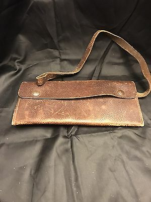 Vintage Leather Wallet Not Sure Of What Era? Men's Accessories