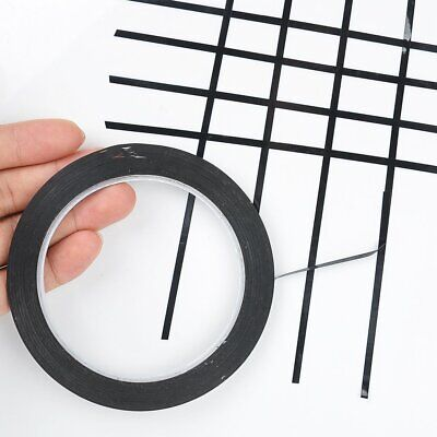 10pcs 3MM Self Adhesive Whiteboard Grid Gridding Marking Tape Non Magnetic Fine