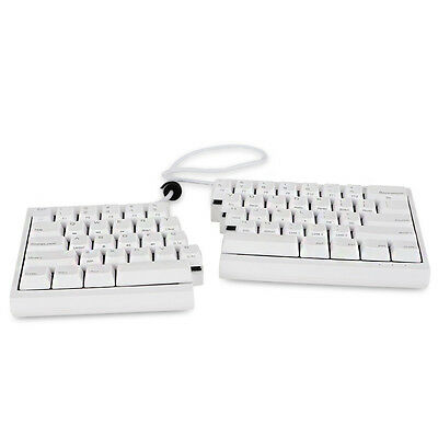 Mistel Barocco MD600 Mechanical Keyboard Cherry MX Brown PBT White