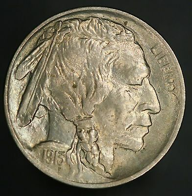 1913-P Buffalo Nickel 5C Type 1 New Gem UNC With Great Eye Appeal! GC426