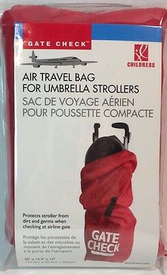 J.L. Childress Umbrella Stroller Airline Airplane Gate Check Travel Bag - 87769