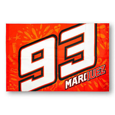 Marc Marquez 93 Logo Flag Size 140 X 90 Cm Supporter Accessory
