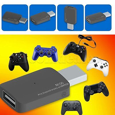 USB Controller Nintendo Switch NS Converter Adapter for Xbox One/Slim/PS3/PS4