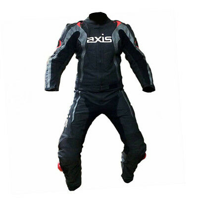 Motorcycle Racing Leather Suit Load by Axis Top Brand Quality Cowhide Leather