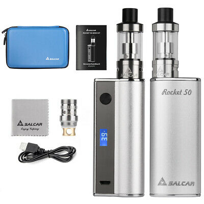 60W Full Kit E-Zigarette Rocket 60 Mod Box Shisha 2ml Verdampfer 2000mAh Akku