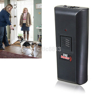 Hot Dog Cat Repeller Chaser Stop Barking Aggressive Trainer Portable Ultrasonic