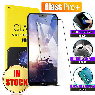 Tempered Glass Screen Protector Guard For Nokia 1 3.1 X5 X6 6.1 7 Plus 8 Sirocco