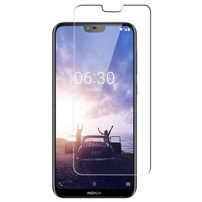 Tempered Glass Screen Protector Guard For Nokia 3.1 X5 X6 6.1 7 Plus 8 Sirocco