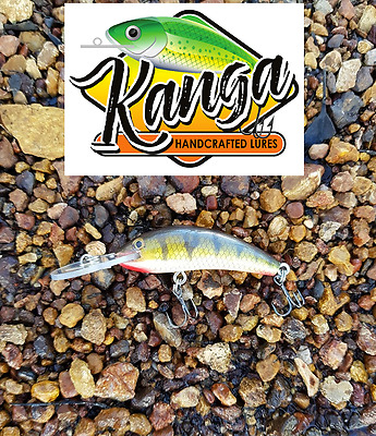 Timber lures, hand crafted Aussie lures, timber lures, aussie made kanga lures