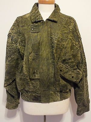 * Awesome Mens Vintage Siricco Leather Jacket. Size M