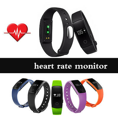 SMART Bluetooth FIT WATCH ACTIVITY STEP TRACKER CALORIE COUNTER BRACELET SMS New