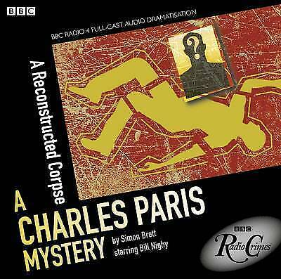 Charles Paris Mystery - A Reconstructed Corpse - New - Bbc  Audio Cd Unsealed