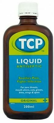 TCP Original Antiseptic Liquid 200ml - Multiple Packs