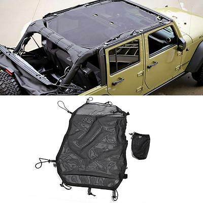 Eclipse Sun Shade Full Length For Jeep Wrangler Unlimited JK 2&4 Door 2007-2016