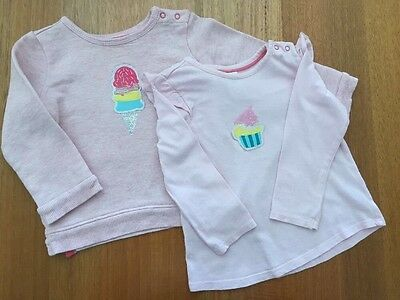 Baby Girl Long Sleeve T And Jumper Set