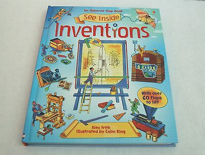 Usborne See Inside Inventions Lift the Flap Book