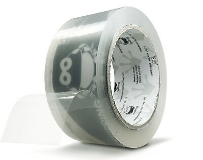 """Red Frog 1 Roll 3.1 mil 1.88"""" x 60 yds Clear, Heavy Duty Packaging Packing Tape"""