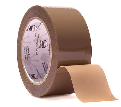 "Red Frog 1 Roll 3.1 mil 1.88""x60yds Tan/Brown Heavy Duty Packaging Packing Tape"