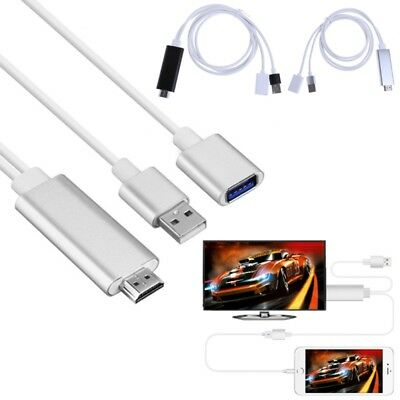 HDMI Male To USB Male Female HDTV TV Adapter Splitter Cable 1080P Full HD Output