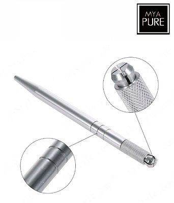 Microblading Pen Aluminium - SPMU Manual Microblade Needle Holder Tattoo Tool