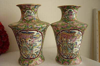 deux vases chinois