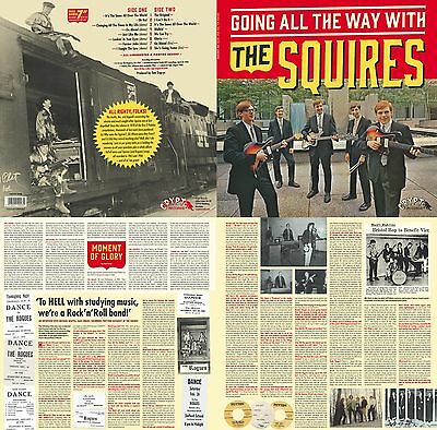 "THE SQUIRES Going All The Way vinyl LP + 7"" NEW garage punk Crypt Rogues"