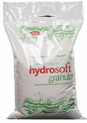 10KG BAG | HYDROSOFT | GRANULAR SALT | Water Softener Dishwasher | Food Grade
