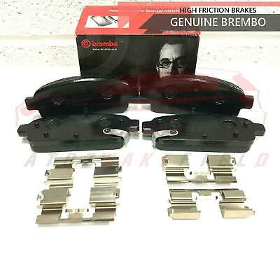 For Vauxhall Astra J Gtc Mk6 Vxr Rear Genuine Brembo Brake Pads Brand New