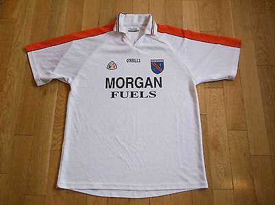 Armagh O'neills Gaa Jersey,size Xl,color White/orange