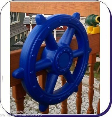 XXL!! Extra Large  Captain Ship's Wheel for Climbing Frame*4 Shades*FREE P&P