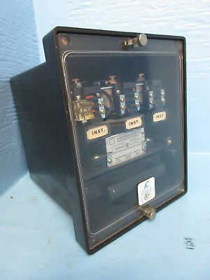 General Electric 12HFC23B1A Instantaneous Overcurrent Relay GE 50/60Hz