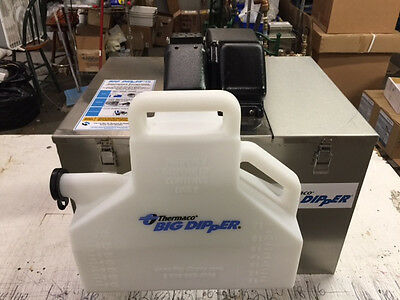 Fully Refurbished Thermaco Big Dipper W-200-IS Automatic Grease Trap - Black top