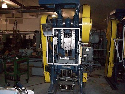 powdered metal compaction press
