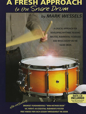 A Fresh Approach to the Snare Drum Book with MP3 CD Learn How To Play