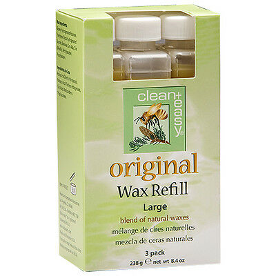 Clean & Easy Large Refill Original Wax 3 pk