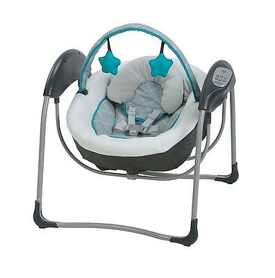 Graco Glider Lite Portable Gliding Baby Swing - Finch - FACTORY SEALED NEW