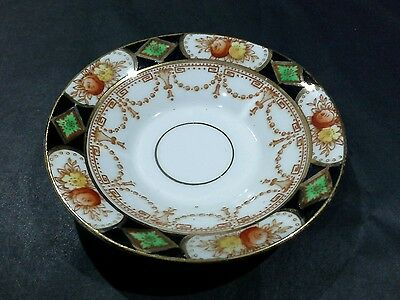 VINTAGE ROYAL STANDARD CHINA IMARI PATTERN SMALL TRINKET  DISH PLATE c 1930's