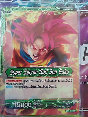 Dragon Ball Super Card Game PROMO HALF DECK Super Saiyan God Son Goku SEALED