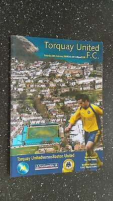 Torquay United V Boston United 2003-04