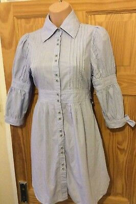 Ladies Women's Shirt Dress Size 8 Ted BakerTED Size 1