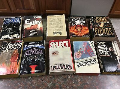 Lot Of 10 Suspense, And/or Mystery, Thriller, Horror Paperback Used Read Books
