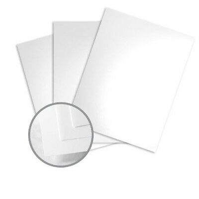 Color Copy Gloss Pure White Card Stock 8.5 x 11 80lb Cover Glossy C/2S 250/Pack